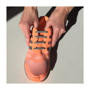 silicone shoelace function how it works