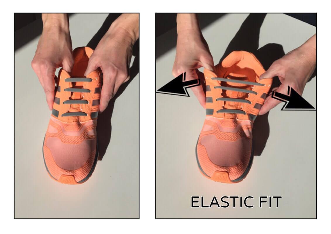 silicone quicklazes elastic fit